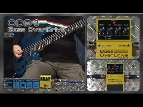 Boss ODB-3 Compact Bass Guitar Overdrive Pedal