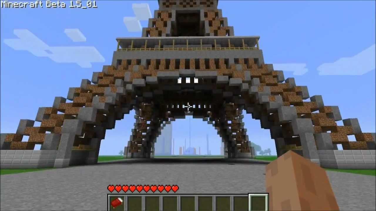 Minecraft construction de fou youtube for Construction de maison sur minecraft