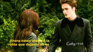 Edward Y Bella My Immortal (subtitulado)