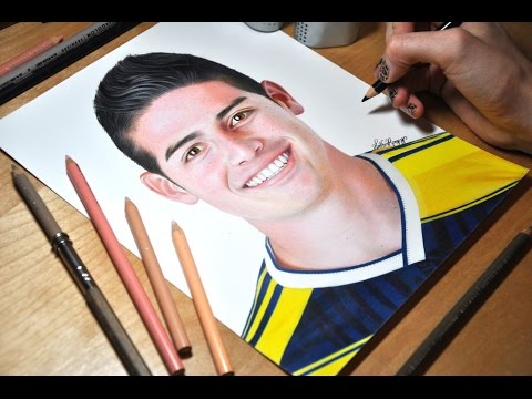 Drawing James Rodriguez
