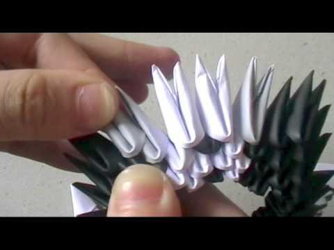 3Dorigami:hellokitty bride & groom pt 5 - tuxedo
