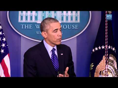 Obama:U.S. Ready To Take Targeted Military Action In Iraq - Full News Conference