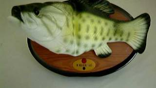 Big Mouth Billy Bass Take Me To The River Singing Fish
