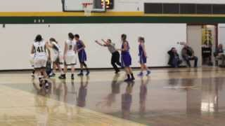 Lakeland Rustlers WBB Action Against Keyano Huskies