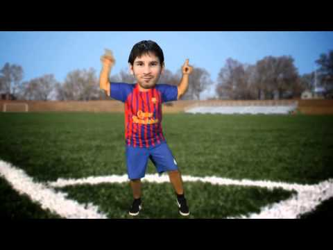 MESSI VS CRISTIANO RONALDO 2013 Gangnam Fight