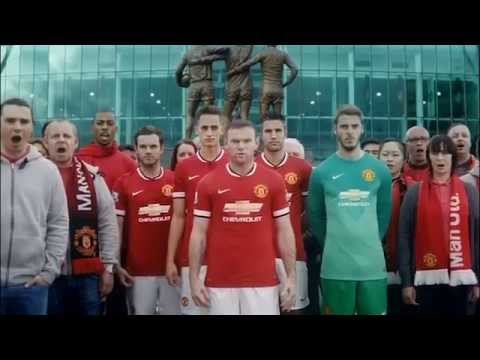 Manchester United new kit 2014/2015 revelead