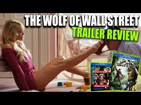 The Wolf of Wall Street Trailer Review + New Blu-ray Movies