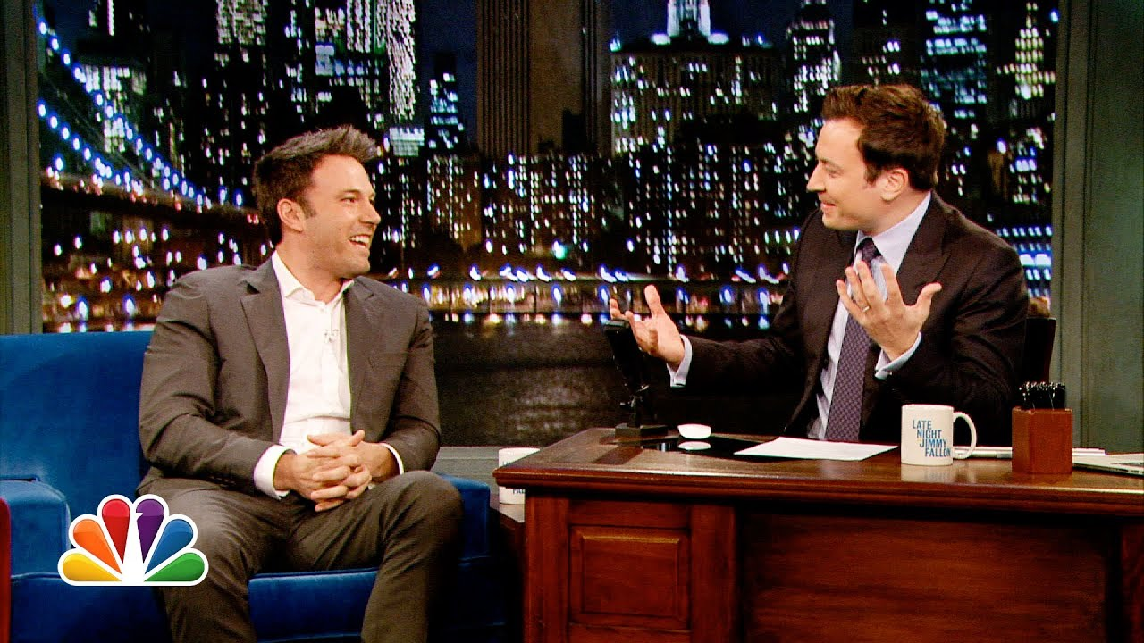 Ben Affleck Advised To Stay Off the Internet! Talks Batman On JIMMY FALLON