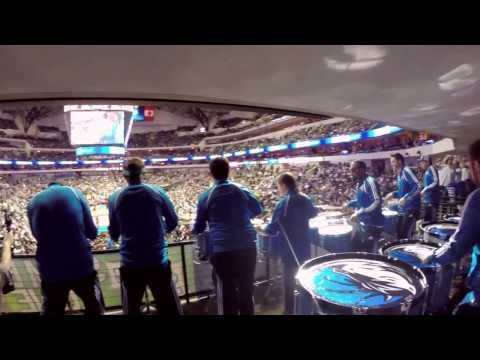 Dallas Mavericks Drumline performing Hot Wing OG - February 7th, 2014