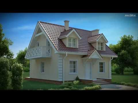 Projekty Z500 - projekt domu Z4