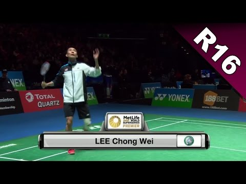 Yonex All England Open 2017 | Badminton R16 | Lee Chong Wei vs Tzu Wei Wang [HD]