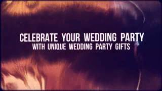 [Personalised Wedding Party Gifts] Video