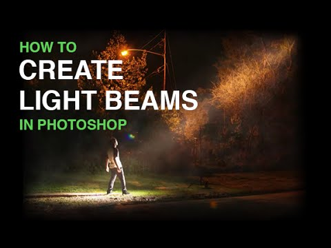 tutorial: Create Beams Of Light From Nothing In Photoshop