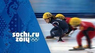Short Track Speed Skating - Ladies' 3000m Relay - Korea Win Gold | Sochi 2014 Winter Olympics