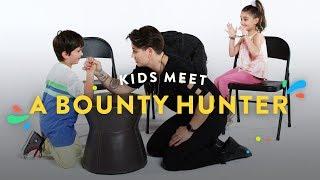 Kids Meet a Bounty Hunter   Kids Meet   HiHo Kids