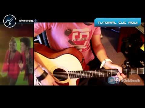 BRUNO MARS - Treasure - Acoustic Guitar Cover