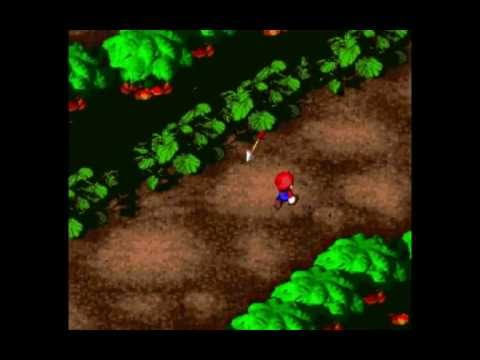 Super Mario RPG -  Gameplay - Forest Maze