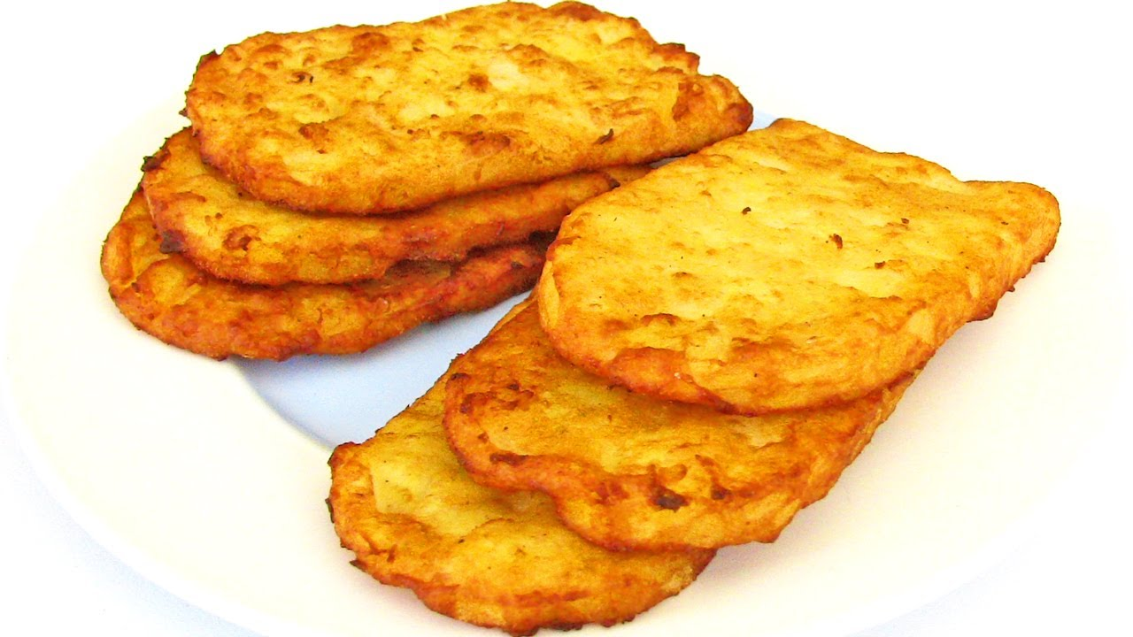 Hash Browns - How To Make Fast Food Style Hash Browns - Recipe ...