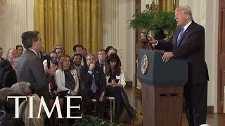 FULL Exchange Of President Trump's Clash With CNN's Jim Acosta | TIME