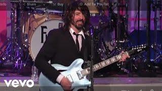 Foo Fighters Big Me (Live On Letterman)