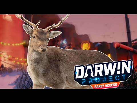 The Flying Deer!   Darwin Project Funny Moments