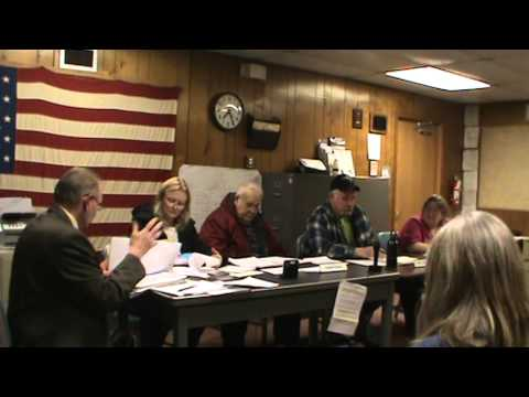 Greene Tnshp (Pike) Monthly Supervisor's Meeting 03/05/14