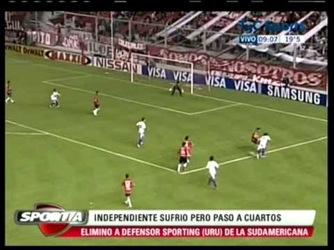 Copa Sudamericana - Independiente 4 vs. Defensor Sporting 2