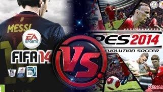 PES 2014 VS FIFA 14 ¿¿ QUIÉN DOMINARÁ ESTE AÑO