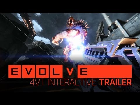 Evolve -- 4v1 Interactive Trailer