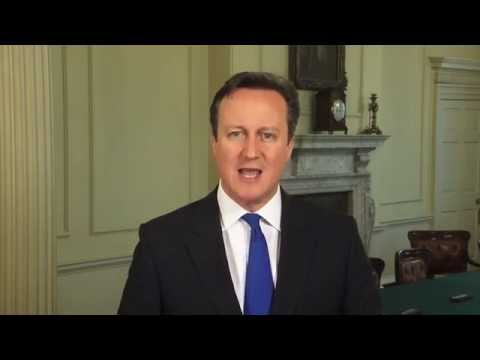 Happy St. George's Day: Message from David Cameron