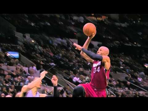 Ray Allen Steals and Takes Off for the Vicious Slam