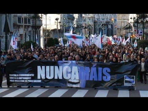 Manifestación de Nunca Máis en Vigo (1/12/13)