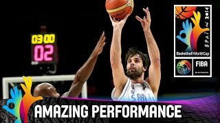 Milos Teodosic - Amazing Performance - 2014 FIBA Basketball World Cup
