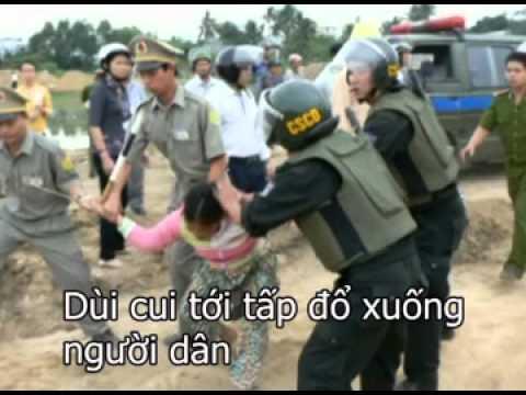 Cách Hành Xử Của Công An Việt Nam Đối Với Người Dân