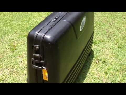 Mala de transporte de bicicleta TC-1 para aviao / Bike Flight Case TC-1