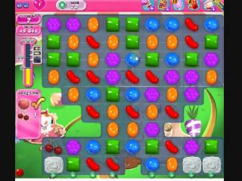 How to beat Candy Crush Saga Level 72 - 1 Stars - No Boosters - 70