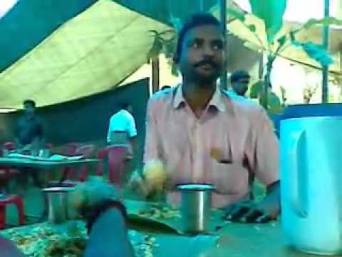 Crazy Indian Guy Eating