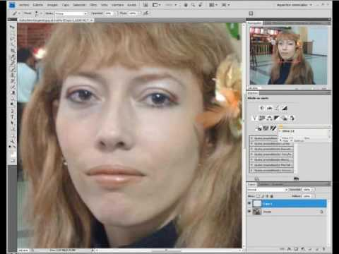 Tutorial Correccion Imperfecciones Rostro Photoshop Cs4