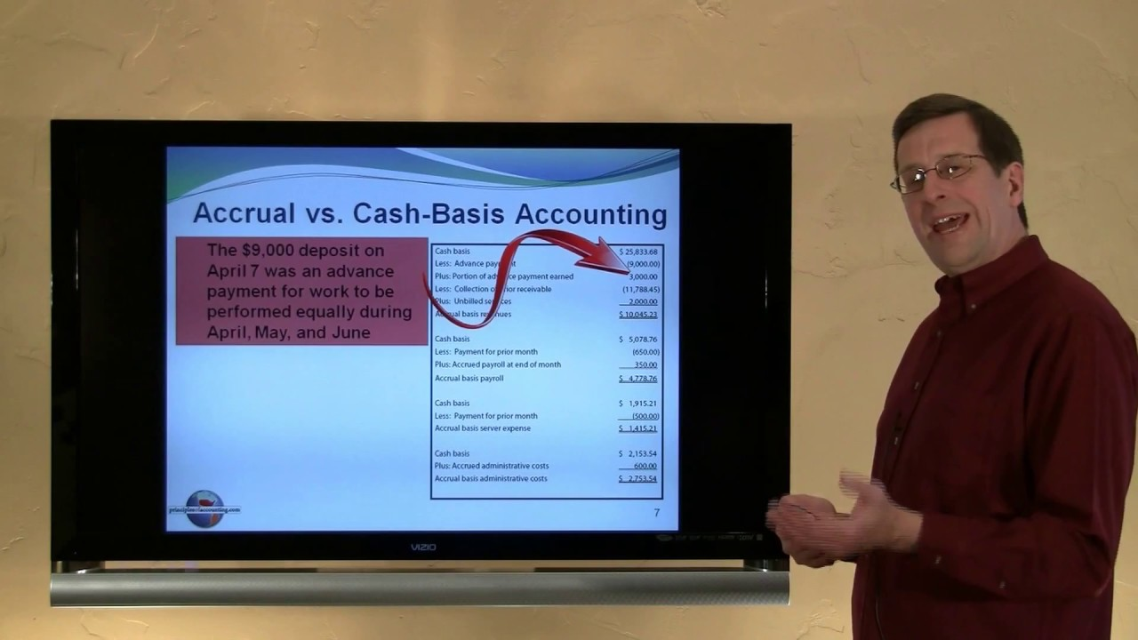 cash to accrual basis Accrual vs cash basis accounting this feature is not available right now please try again later.