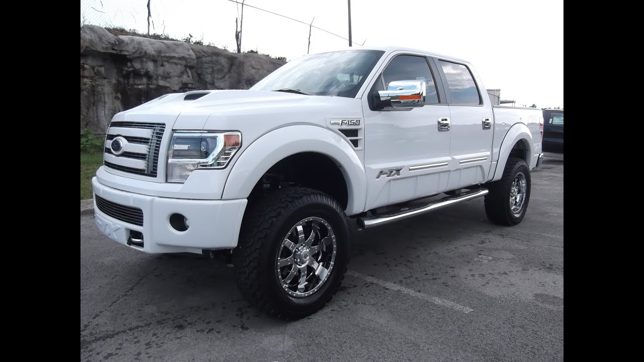 """2013 FORD F-150 FTX BY TUSCANY OXFORD WHITE 6"""" PROCOMP LIFT FORD OF MURFREESBORO 888-439-1265"""