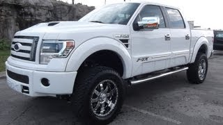 "2013 FORD F-150 FTX BY TUSCANY OXFORD WHITE 6"" PROCOMP"
