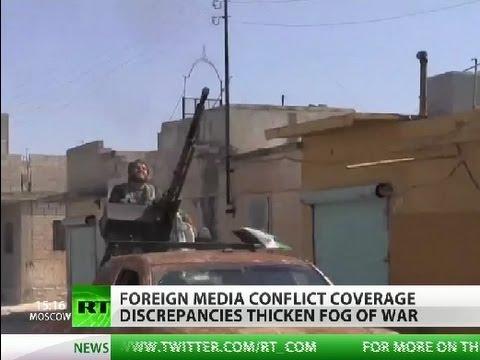Mortal TV: Western media bias muddies waters in Syrian conflict