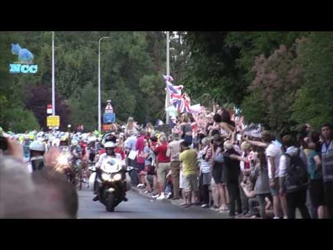 2014 Tour De France. Stage 3. (Great Shelford, Cambridge to London)