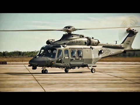 Newest USAF Helicopter Unveiled • MH-139A Grey Wolf