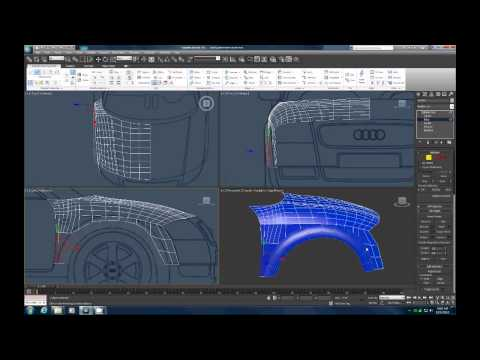 3DS Max  spline modeling EASY Part 5