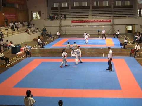 Giải Karate Học sinh Hà Nội mở rộng - Karate Ha Noi 2013 - Trận đấu Thành viên Club Trần Hưng Đạo