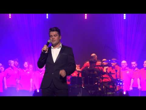 Joe McElderry & Royal Mail Choir  -  Abide With Me