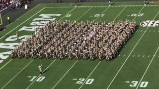 Fightin' Texas Aggie Band First Halftime Show 2016 UCLA Game