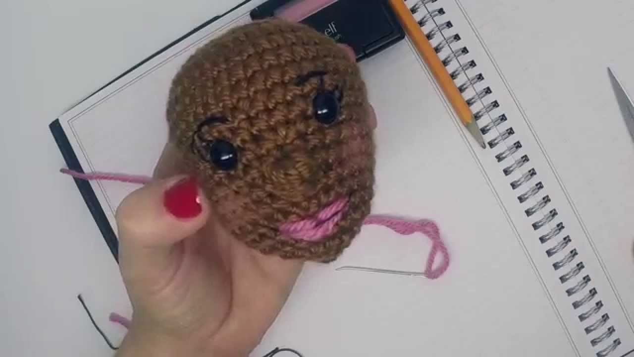 AmiguruME Faces -- Crochet faces on your Amigurumi Dolls ...
