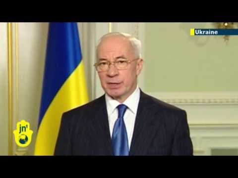 Ukraine PM resigns amid protest crisis